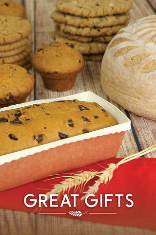 Handcrafted Gifts of Bread & Cookies