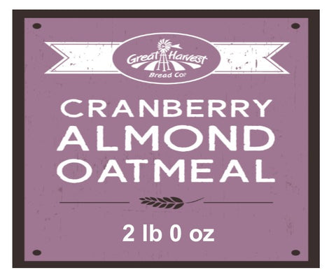 Cranberry Almond Raisin Oatmeal