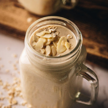 White Chocolate Coconut Cashew Hot Chocolate