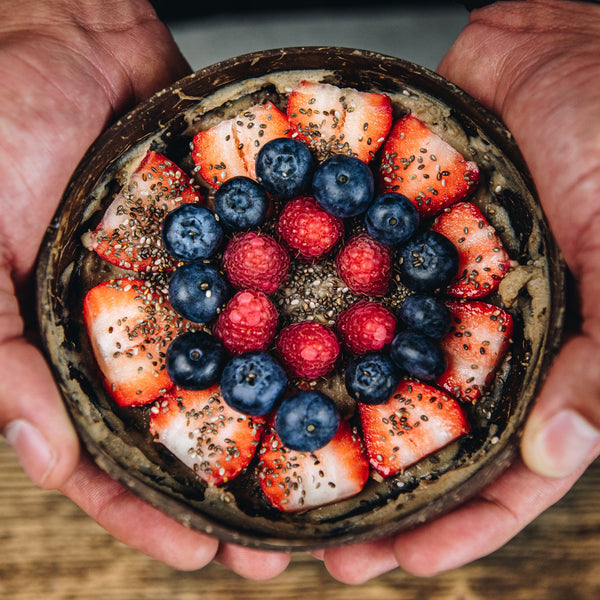 Summer Berries Protein Bowl