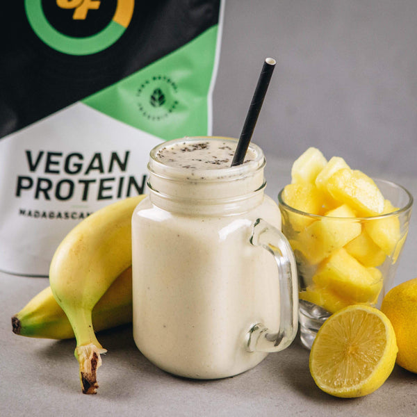 Banana Pineapple Protein Smoothie