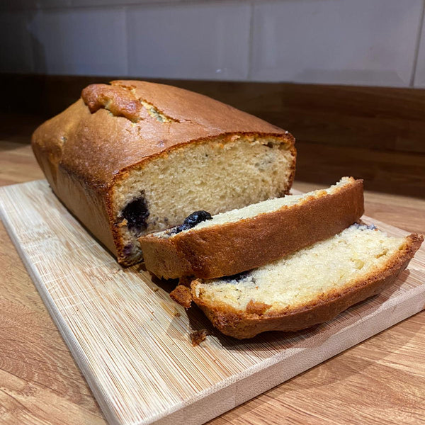 Blueberry Banana Protein Loaf