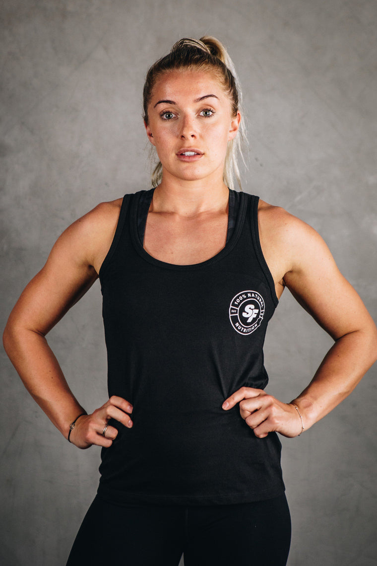 SFN ORIGINAL COLLECTION // WOMEN'S HERO LOGO VEST