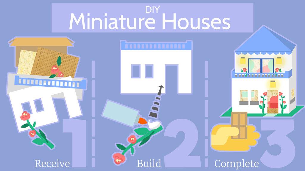How DIY Miniature Houses work