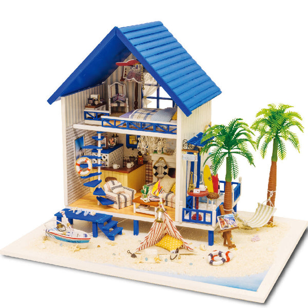 Aegean Sea - DIY Miniature House Kit