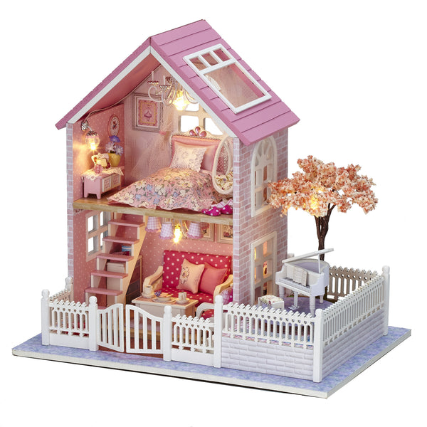 Pink Sakura - DIY Miniature House Kit