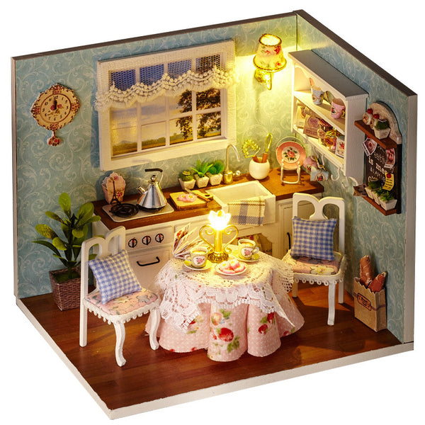 Happiness Series - Happy Kitchen - DIY Miniature House
