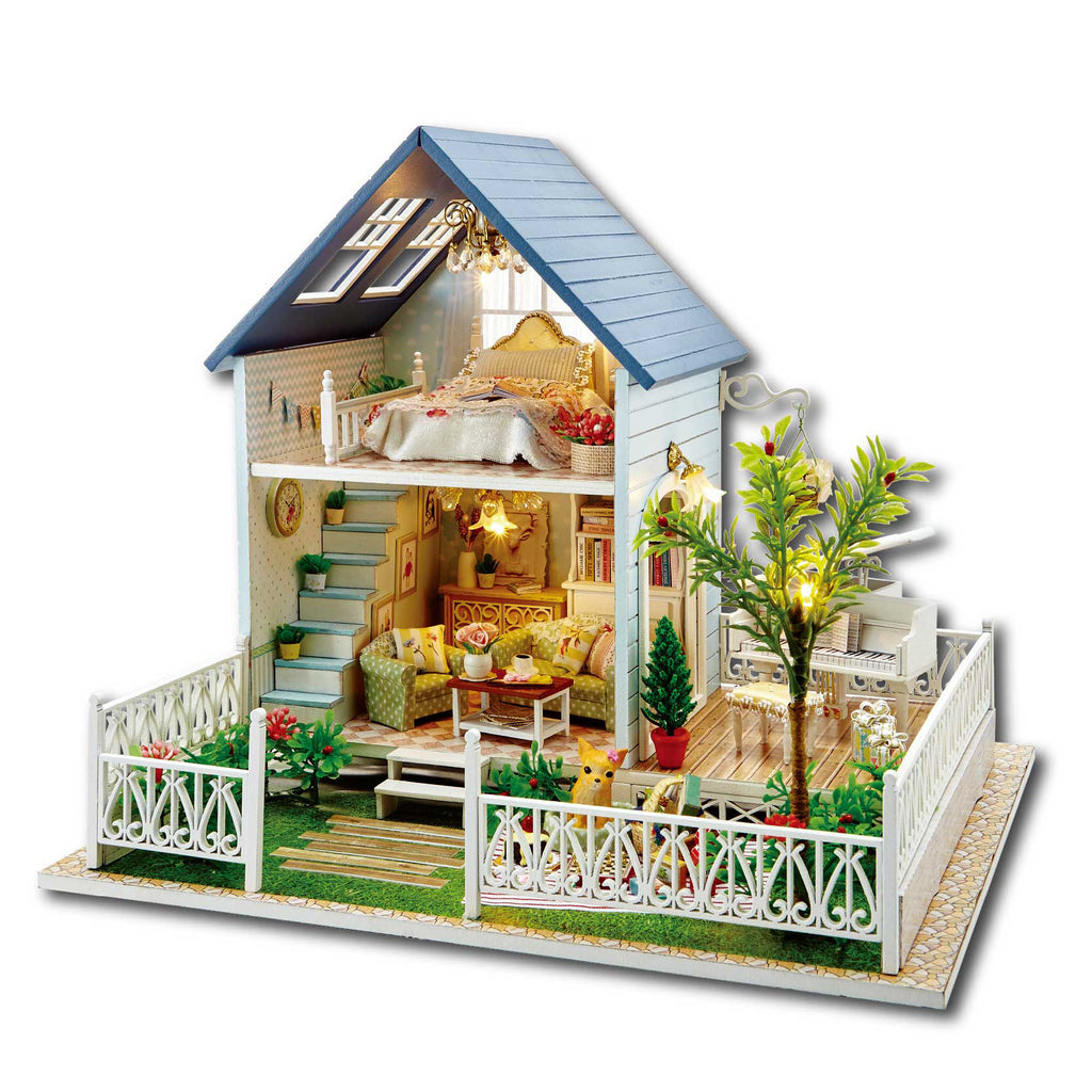 Nordic Holiday - DIY Miniature House Kit