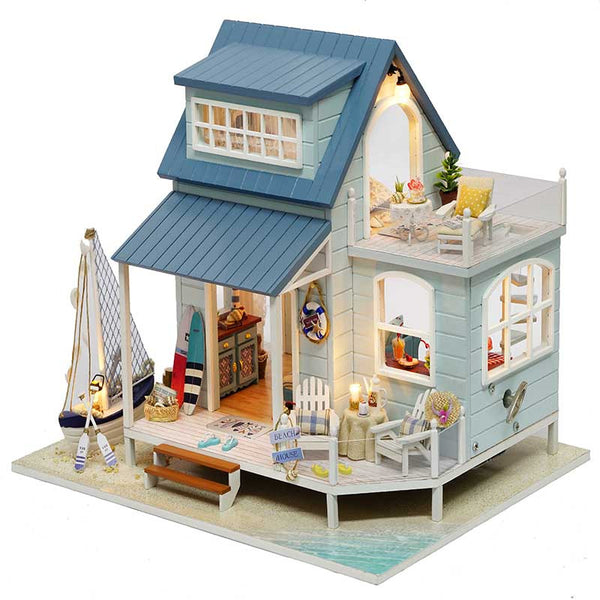 Caribbean Sea - DIY Miniature House Kit