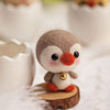 Cute wool felting penguin - DIY Felting Kit