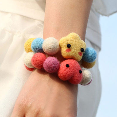 Felt Bracelet - DIY Felting Kit