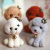 Teddy Dog - DIY Felting Kit