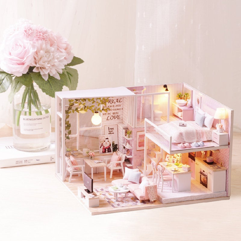 Tranquil Life - 1:24 DIY Miniature Dollhouse Craft Kit