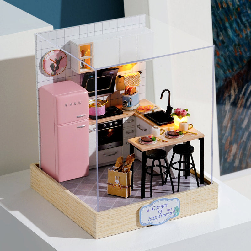 Taste of Life - Corner of Happiness Series - 1:24 DIY Miniature Dollhouse Craft Kit