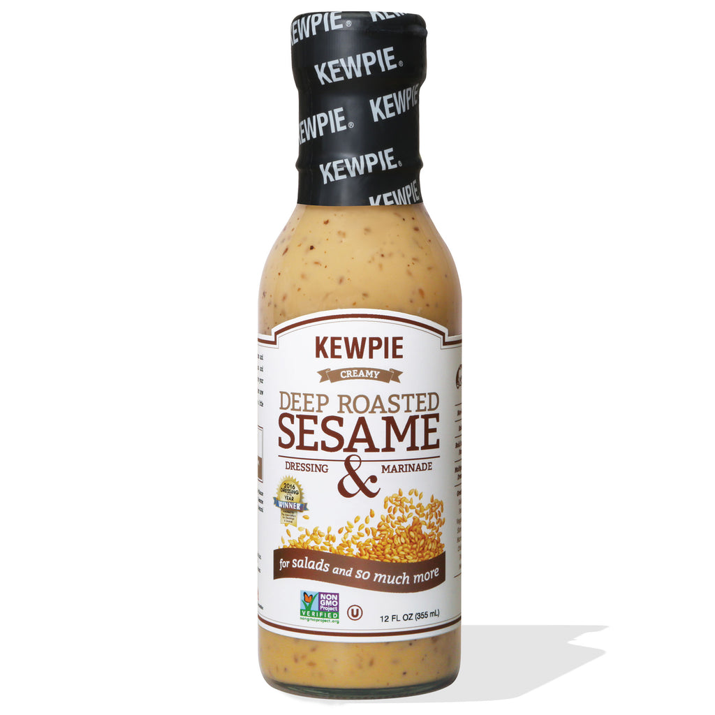 Kewpie Deep Roasted Sesame Asian Salad Dressing 12oz