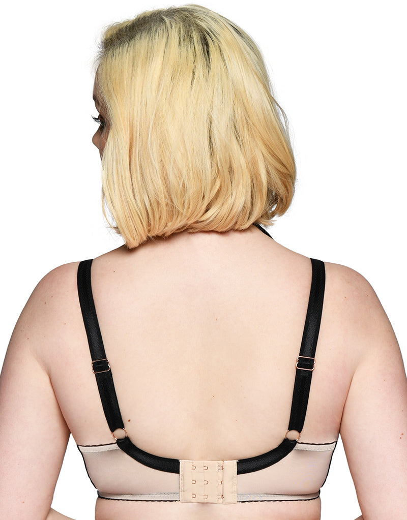 Curvy Kate Scantilly Knock Out Latte Plunge Bra #ST3311