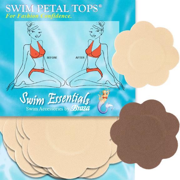 Braza Swim Petal Tops - Disposable  Nipple Covers #11431