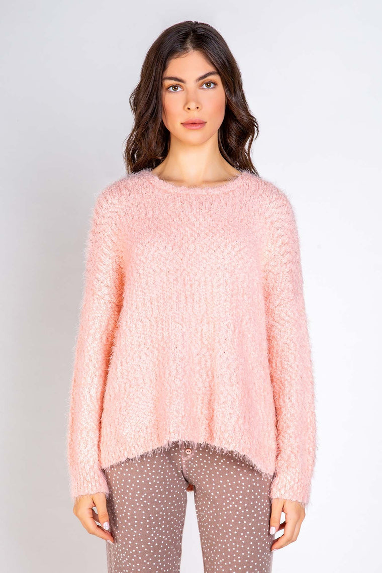 PJ Salvage Knobby Knit Long Sleeve Top #RUKKLS