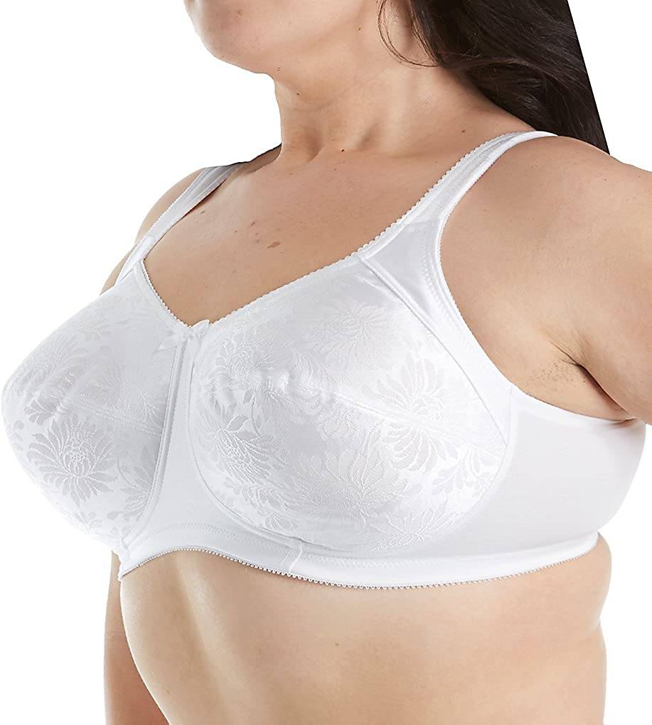Aviana Smooth Floral Jacquard SoftCup Bra #2353 More Colors and Sizes