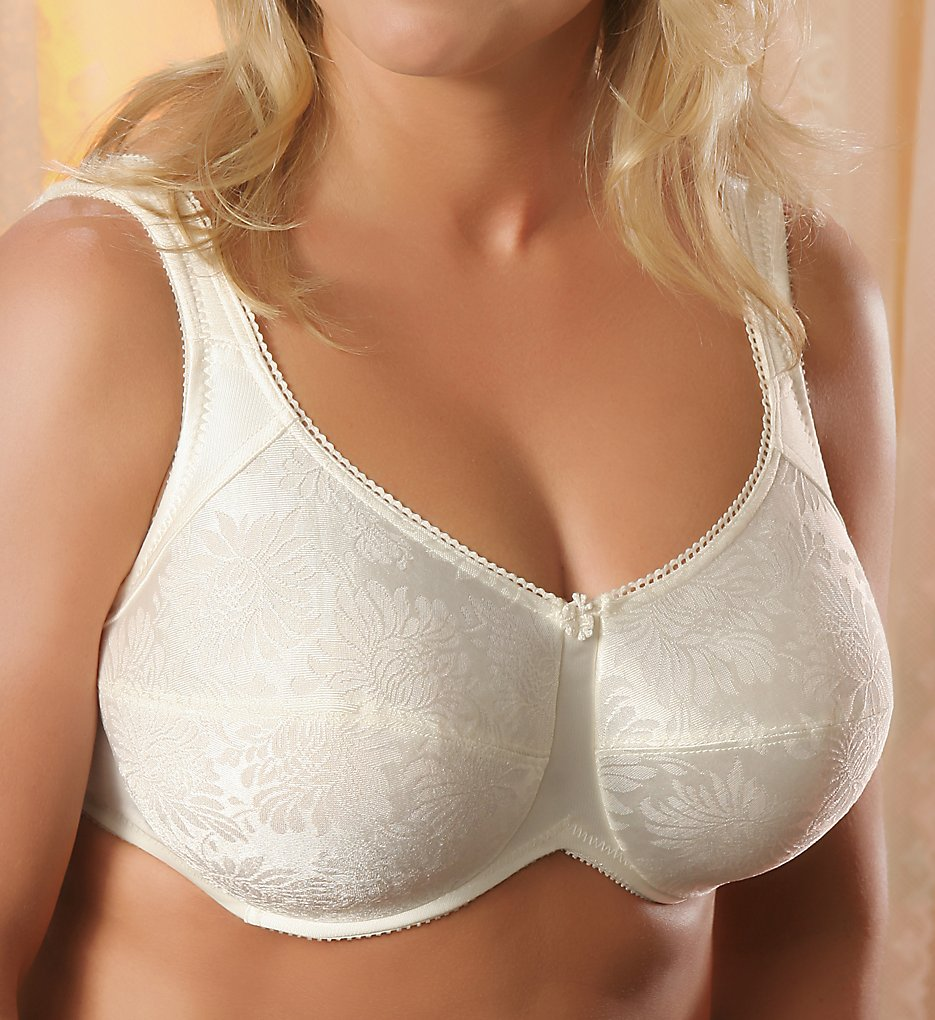 Aviana Smooth Floral Jacquard Underwire Bra #2453
