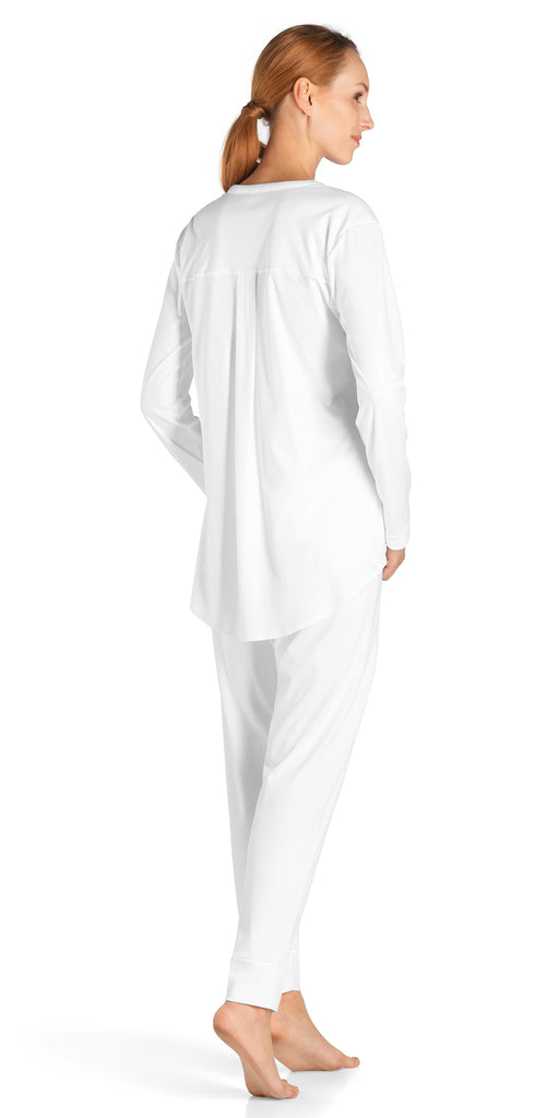 Hanro Pure Essence Long Sleeve Pajama #77949
