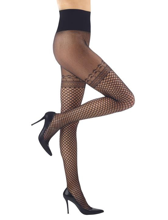 Commando Deco Faux Thigh-High #HN029