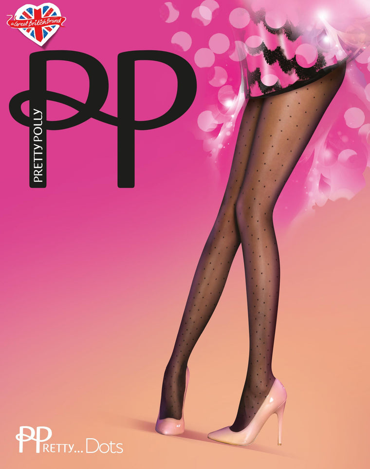 Pretty Polly Pretty Dots Tights #PNATV2