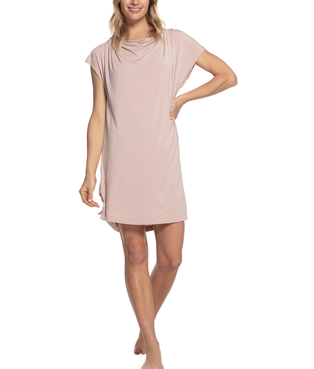 Barefoot Dreams Luxe Milk Jersey Cowl Neck Nightshirt #BDWLM1385
