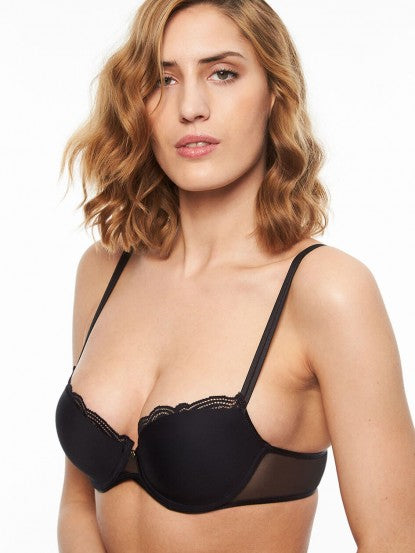 Chantelle Pyramide Smooth Demi Underwire Bra #1462