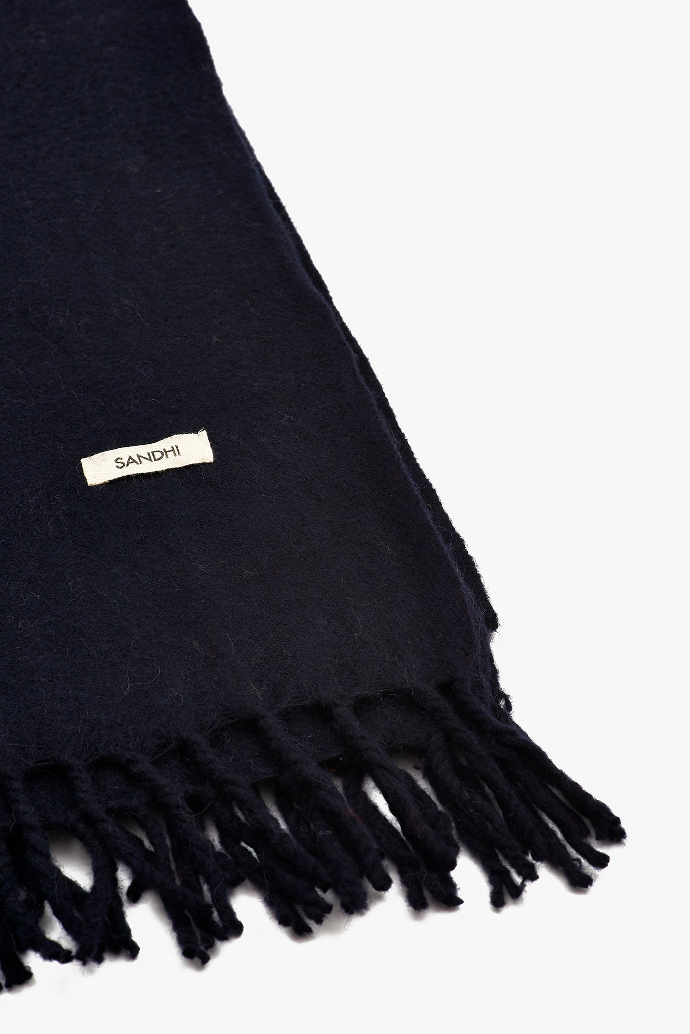 Beautiful Black Scarves for Women & Men | Sandhi