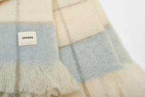 Super Soft & Cozy Blanket for couch Blue | Sandhi
