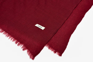 Shawls and Wraps Wine Red | Sandhi