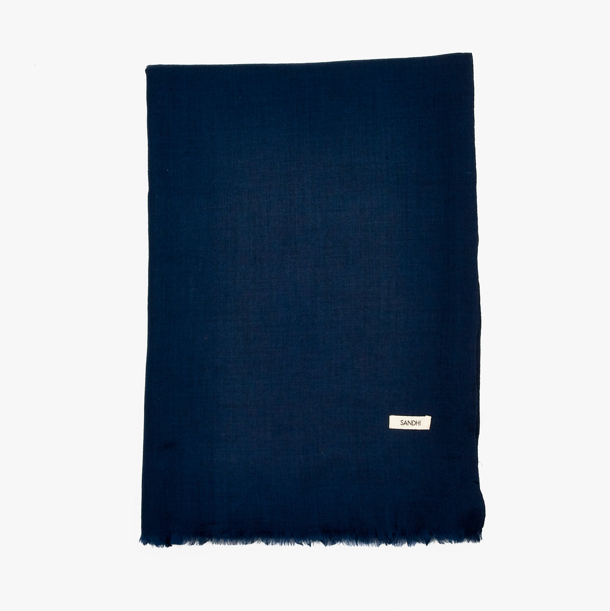 Navy Blue Scarf Winter Scarves for Womens | Sandhi