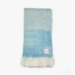 Fluffy Teal Throws For Beds | Sandhi