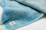 Blue Fuzzy Blanket Plaids for Couch | Sandhi