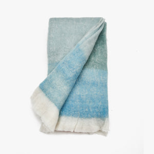Teal Throw Blanket For Sofas | Sandhi