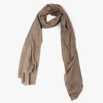 Brown Cashmere wool scarf men women | Sandhi