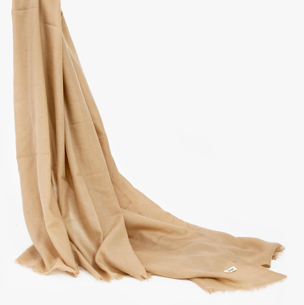 Women's Dress Scarves Cashmere Shawl Wrap Cream | Sandhi