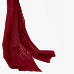 Buy Red Cashmere Scarf mens womens | Sandhi