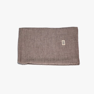 Brown warm soft lightweight cashmere scarf wrap | Sandhi