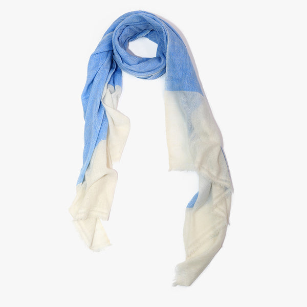 Blue Cashmere wool scarf men women | Sandhi