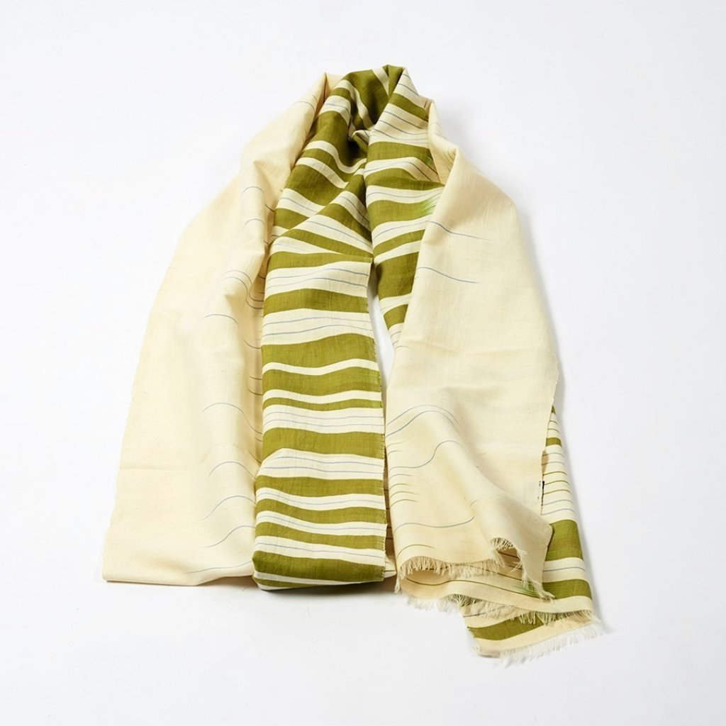 Frequency Scarf - Moss