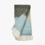 Blue and Grey Blanket Throw | Sandhi