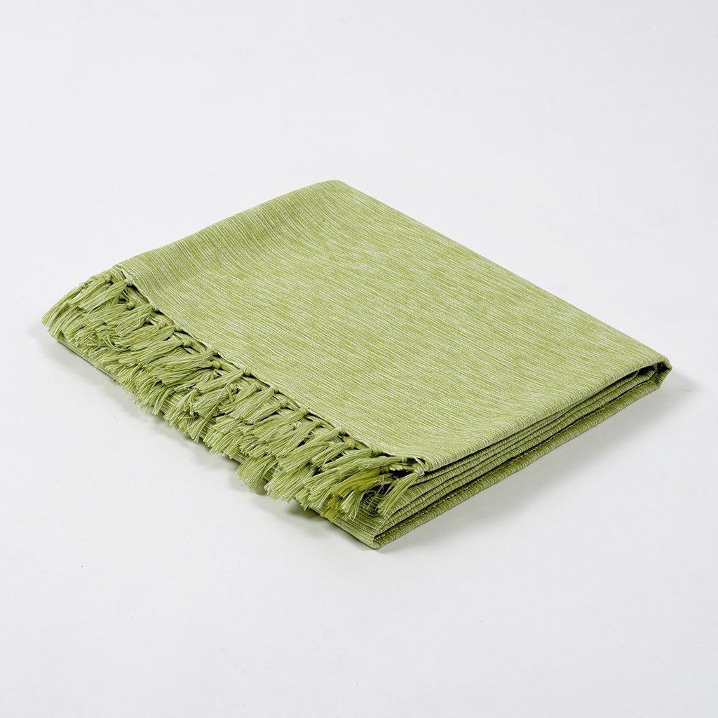 Chambray Blanket - Moss