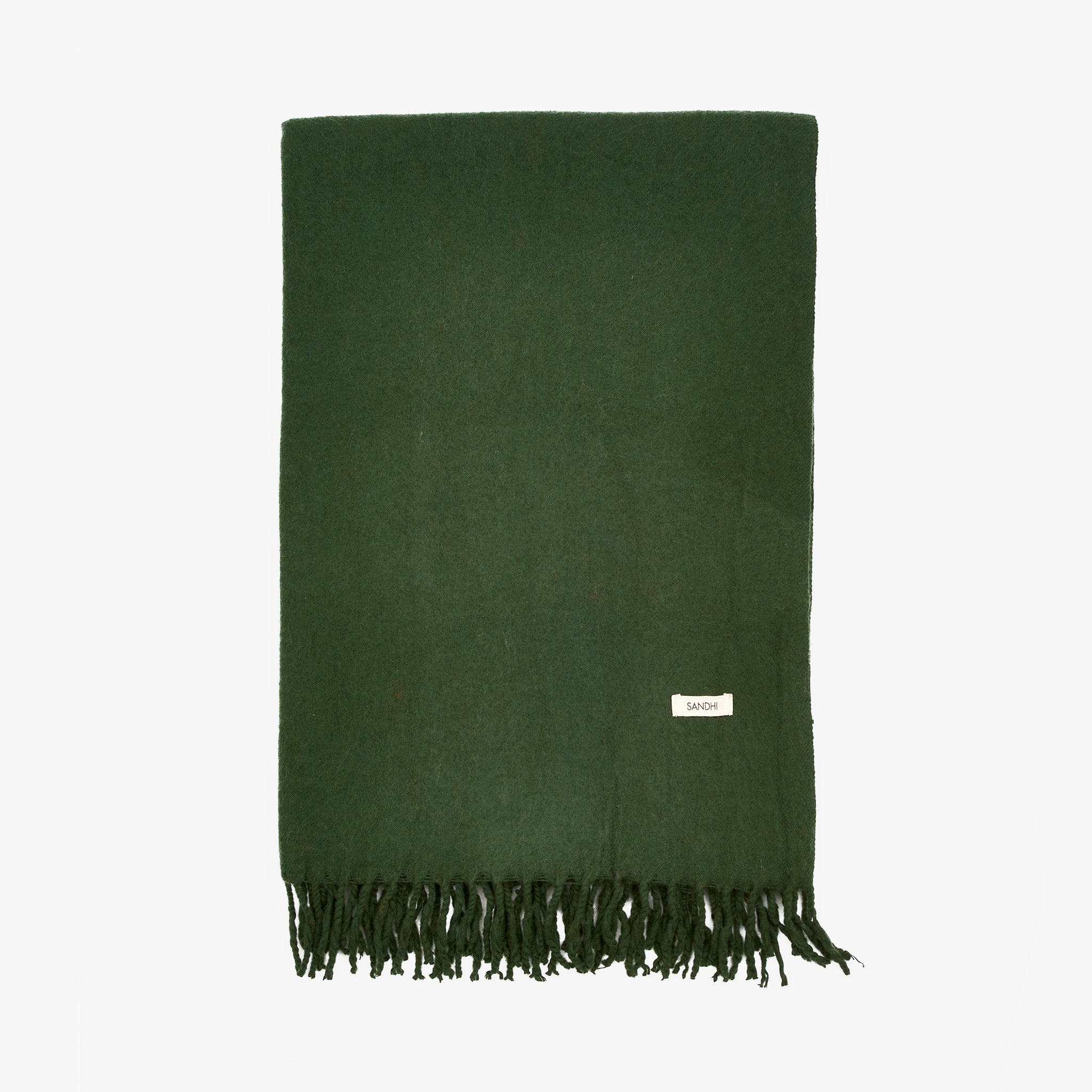 Dark Green Scarf, Scarves Women | Sandhi