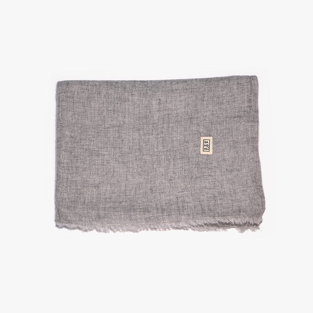Warm soft lightweight cashmere scarf wrap | Sandhi