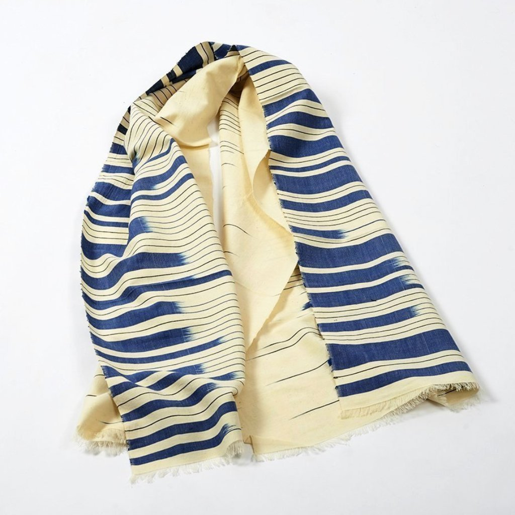 Frequency Scarf - Cobalt