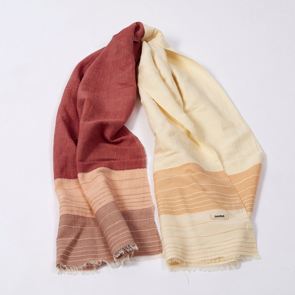 Reflection Scarf - Blush