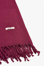 Red Scarf Womens Scarves Around Neck | Sandhi