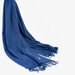 Lambswool Blue Dress Scarves | Sandhi